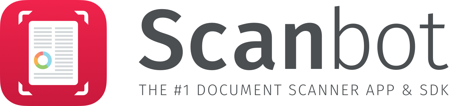 Scanbot Logo with Claim